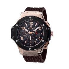 Yooyvso MEGIR Mountaineering Outdoor Sports Watches Authentic Fashion Waterproof Quartz Watch Men And Women Couple Models 3002G (Gold)