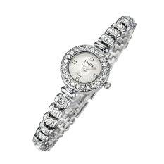 Yooyvso Watch Female Models Genuine Yaqin Yaqin Watch 7054 Fashion Bracelet Fashion Table (Silver)