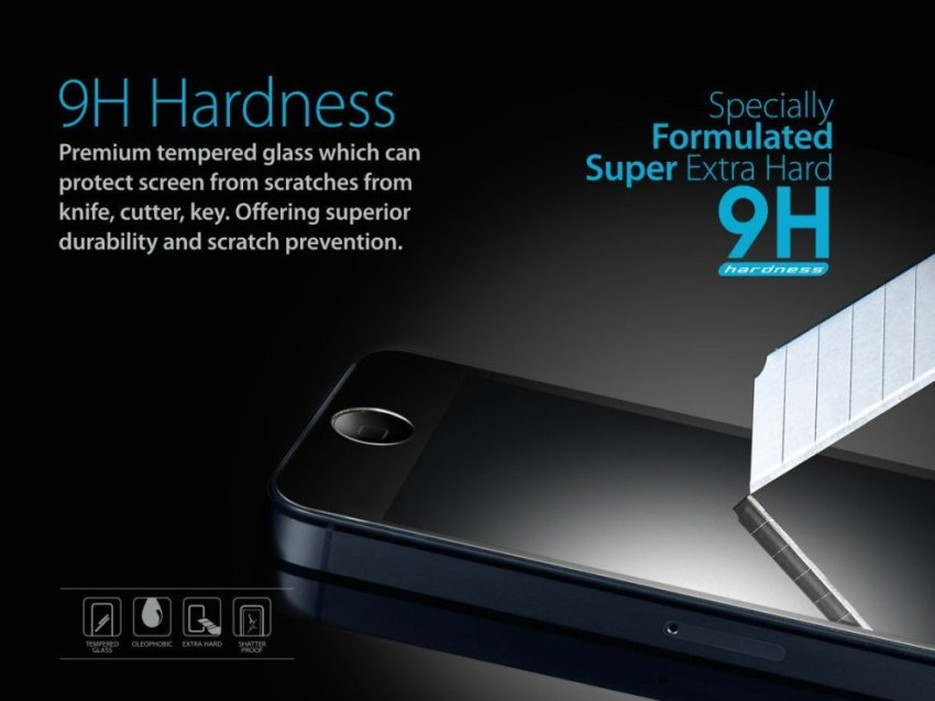 Zagbox Tempered Glass iPhone 4