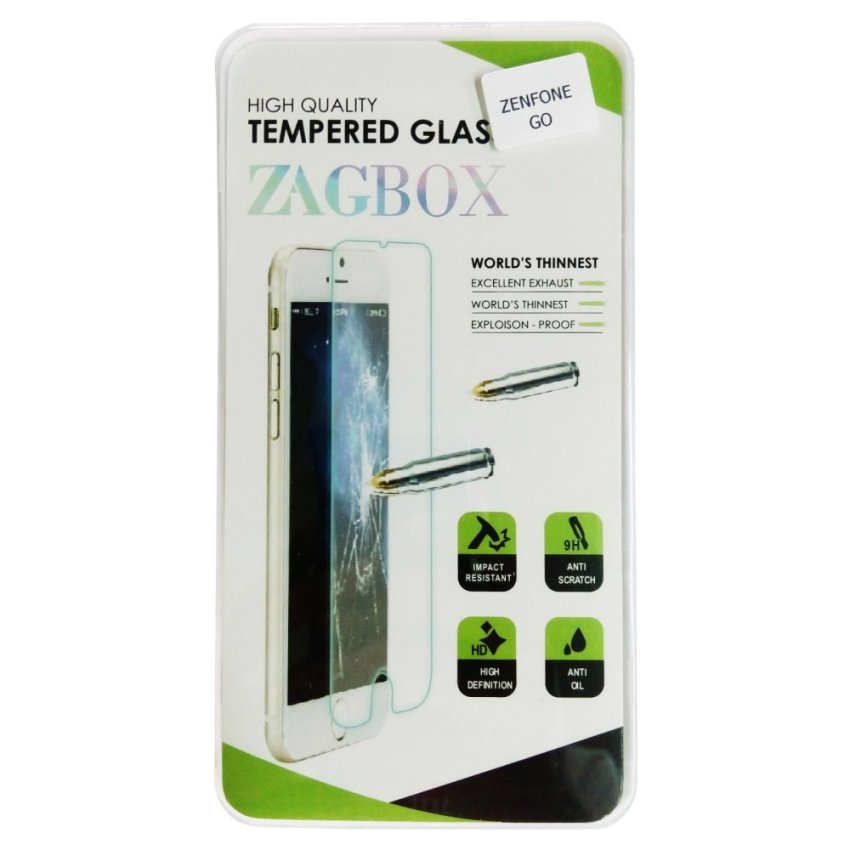 Zagbox Tempered Glass Protector untuk Xiaomi Redmi Note 2 - Clear