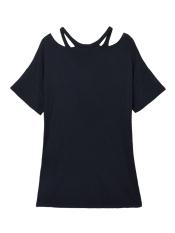 ZANZEA Women V-Neck Baggy Casual Loose T-shirt - Intl
