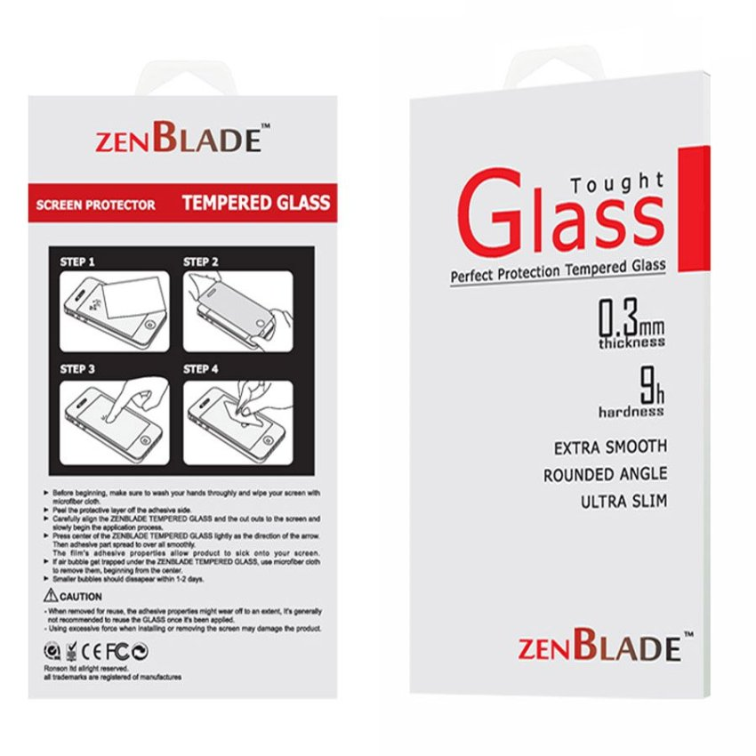 ZenBlade Tempered Glass For Oppo F1