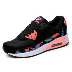 ZHAIZUBULUO Women Fashion Walking Shoes Sport Air Max Sneakers Q22 (Floral) (Intl)