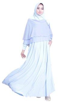 Zilova Syari Gamis 1602 Baby Blue Lazada Indonesia