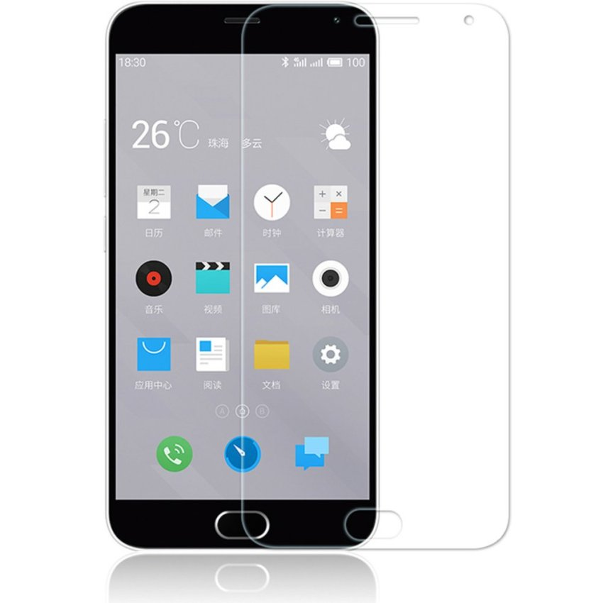 Zisure Premium Tempered Glass Screen Protector for Meizu Meilan Note 2 (Ultra Clear) (Intl)