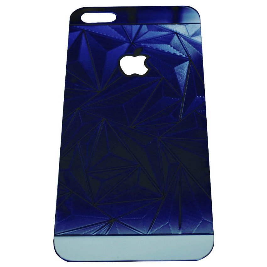 Zona Tempered Glass 3D Diamond for iPhone 4 - Blue
