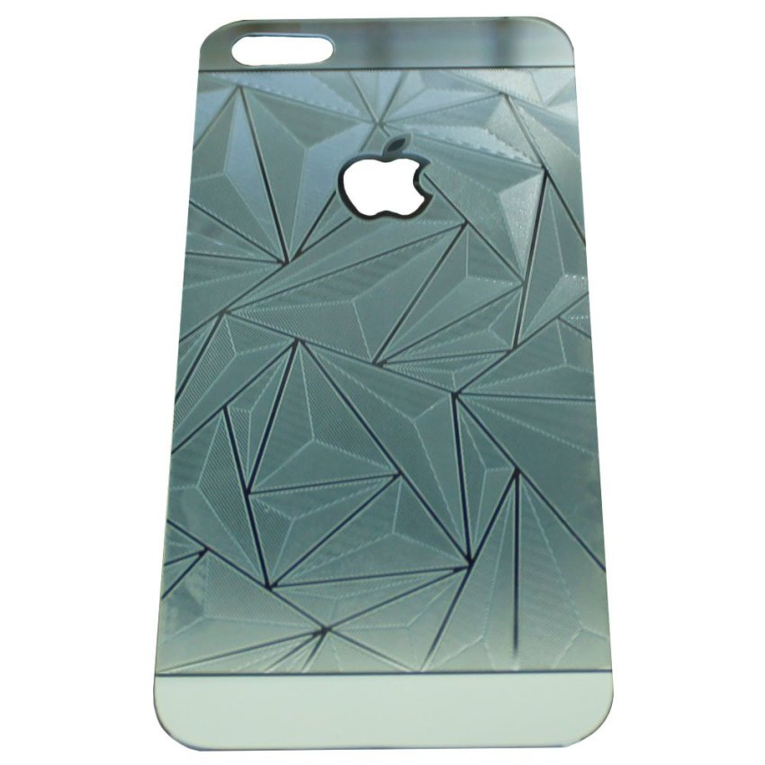 Zona Tempered Glass 3D Diamond for iPhone 4 - Silver