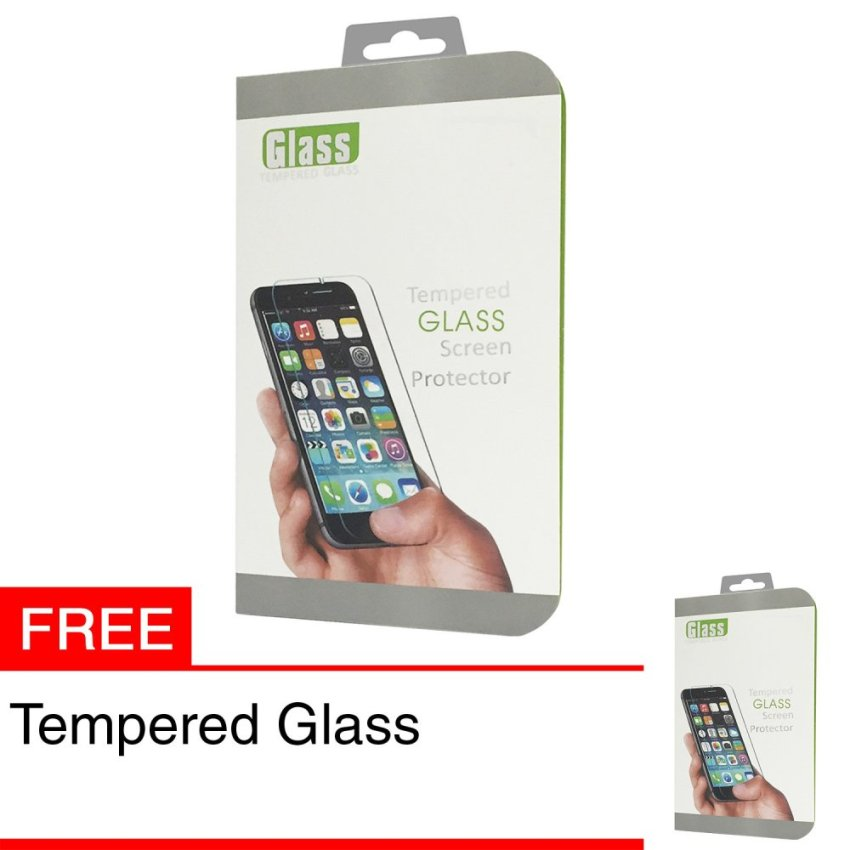 Zona Tempered Glass for iPhone 4 + Gratis Tempered Glass