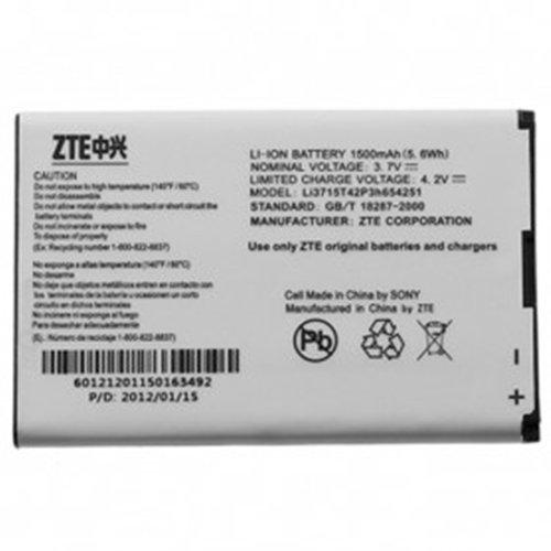 ZTE Baterai for Mifi MF30 MF60 MF62 AC30 - Li3715T42P3h654251 - Silver