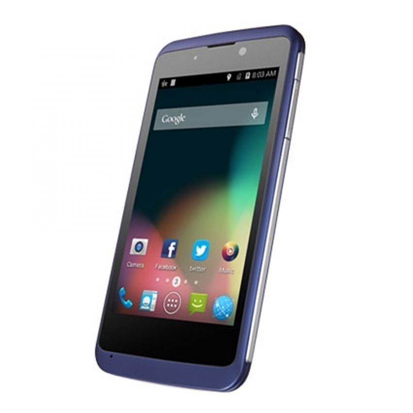 ZTE Kiss 3 V811W - Qualcomm - KitKat - 4GB - Biru