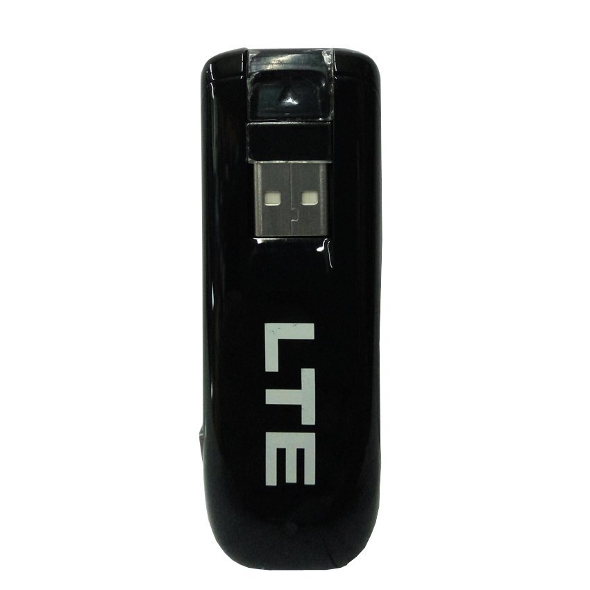 ZTE MF821 Modem 3G 4G LTE 1800MHz Speed Up to 100Mbps Support All Gsm - Hitam