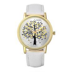 ZUNCLE Women Tree Elegant Quartz Wrist Watch (White)