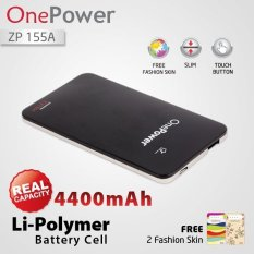 Zyrex OnePower Power Bank ZP155A - 4400 mAh - Hitam