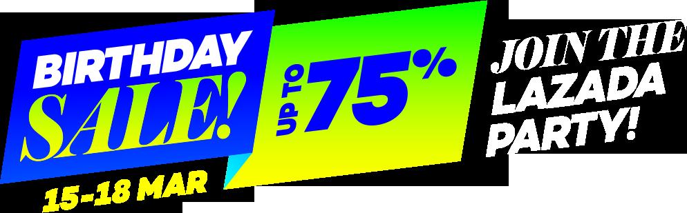 4th Lazada.co.id Anniversary - Penawaran Terbaik dari Merk