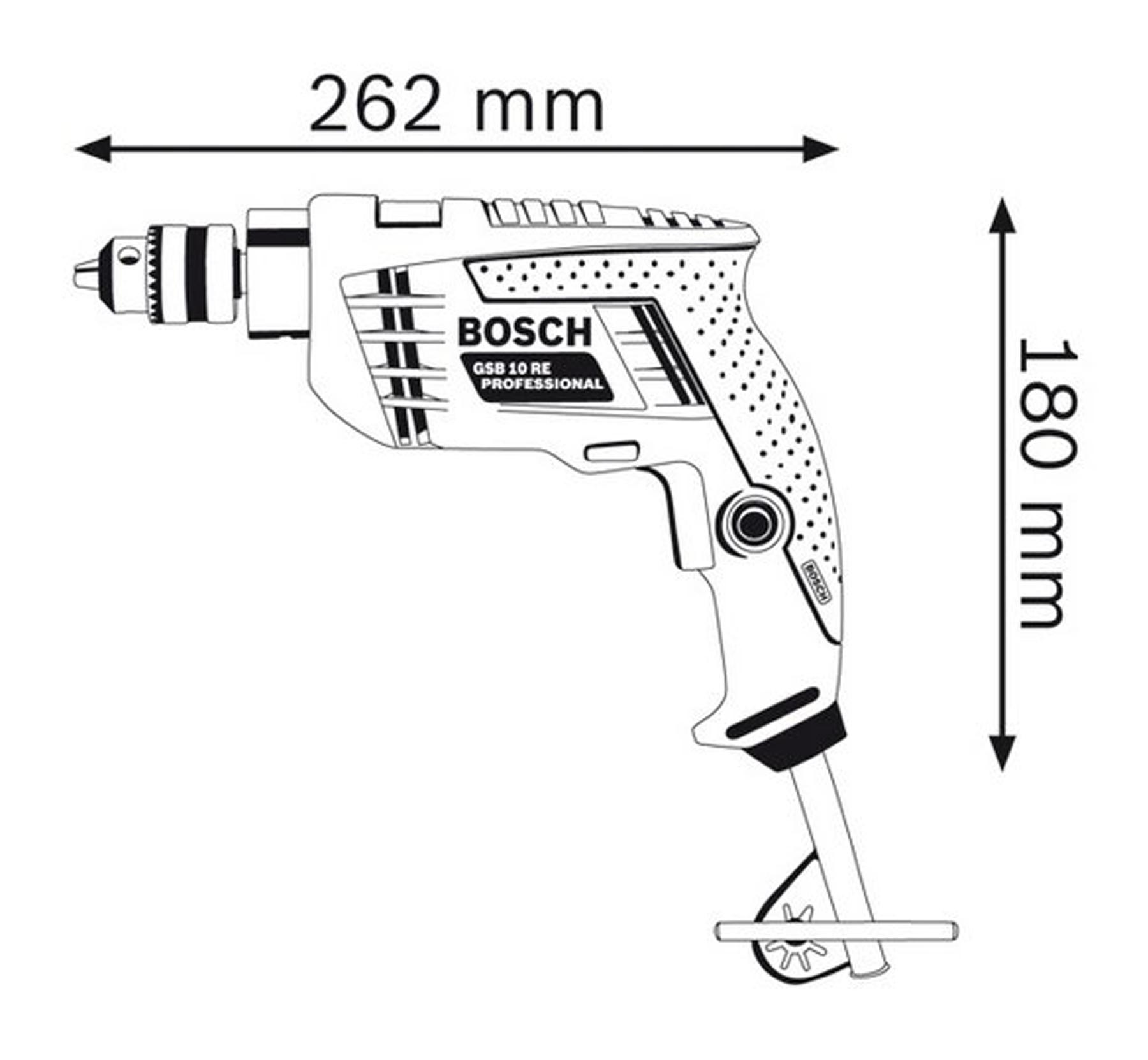 Fitur Bosch Gsb 10 Re Mesin Bor Tembok Impact Drill Dan Harga Beton 16 3