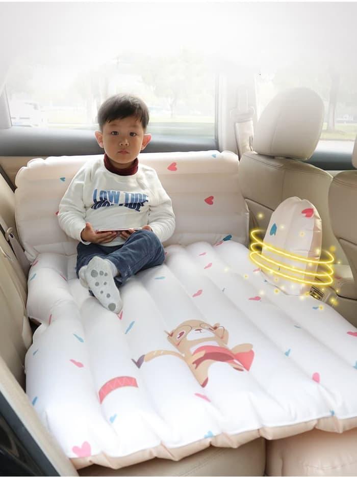 Kasur Udara Kasur Pompa Tempat Tidur Di Mobil Kasur Portable Aksesoris Mobil Interior Mobil Kasur Perjalanan Jauh Kartun