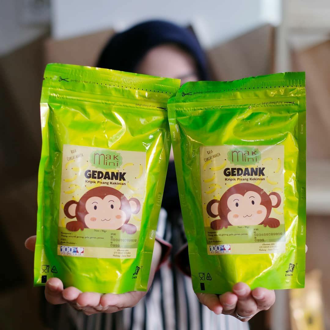 MAKMINI GEDANK pisang coklat 90gr