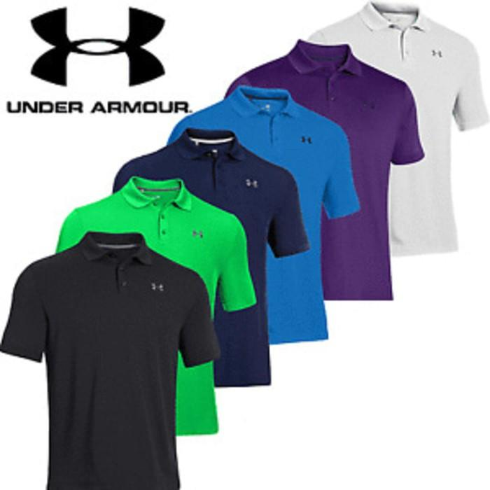 POLO SHIRT UNDER ARMOUR DISTRO - KAOS BAJU NIKE KERAH PRIA - B58fhq
