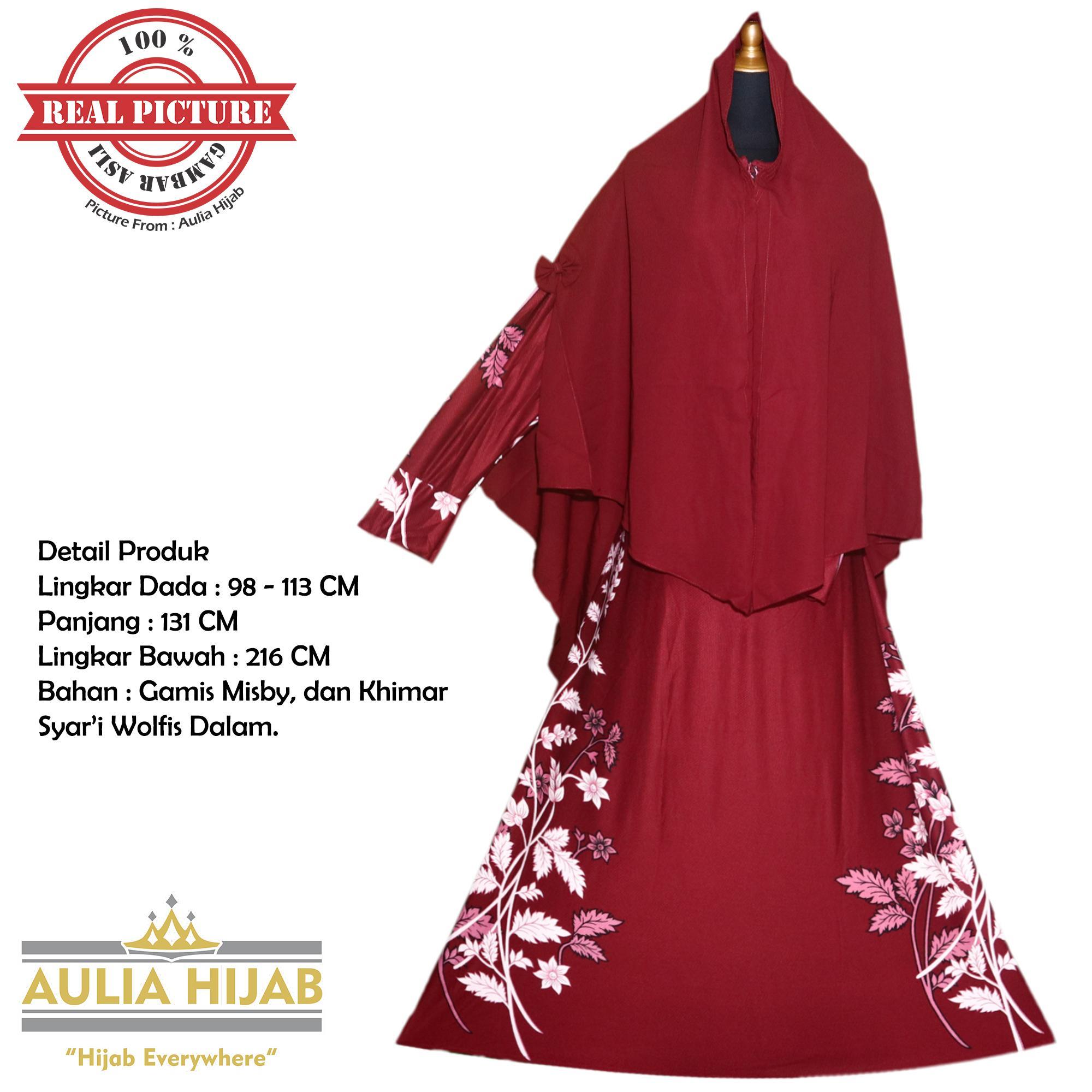 Aulia Hijab - Keysha Syar'i/Gamis Syar'i/Gamis Misby/Gamis Wolfis/Gamis Laser/Gamis Murah/Gamis Terbaru/Gamis Jilbab/Gamis Plus Jilbab/Gamis Jilbab Panjang/Gamis Plus Khimar/Gamis Pesta/Gamis Cantik
