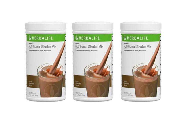 Shake#herbalife#dutch chocolate 3 kaleng