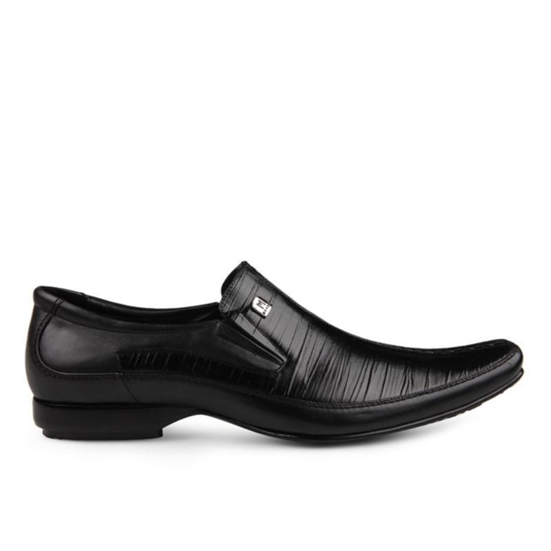 Detail Gambar Marelli Sepatu Pria Formal Kulit LV 002 - Hitam Terbaru