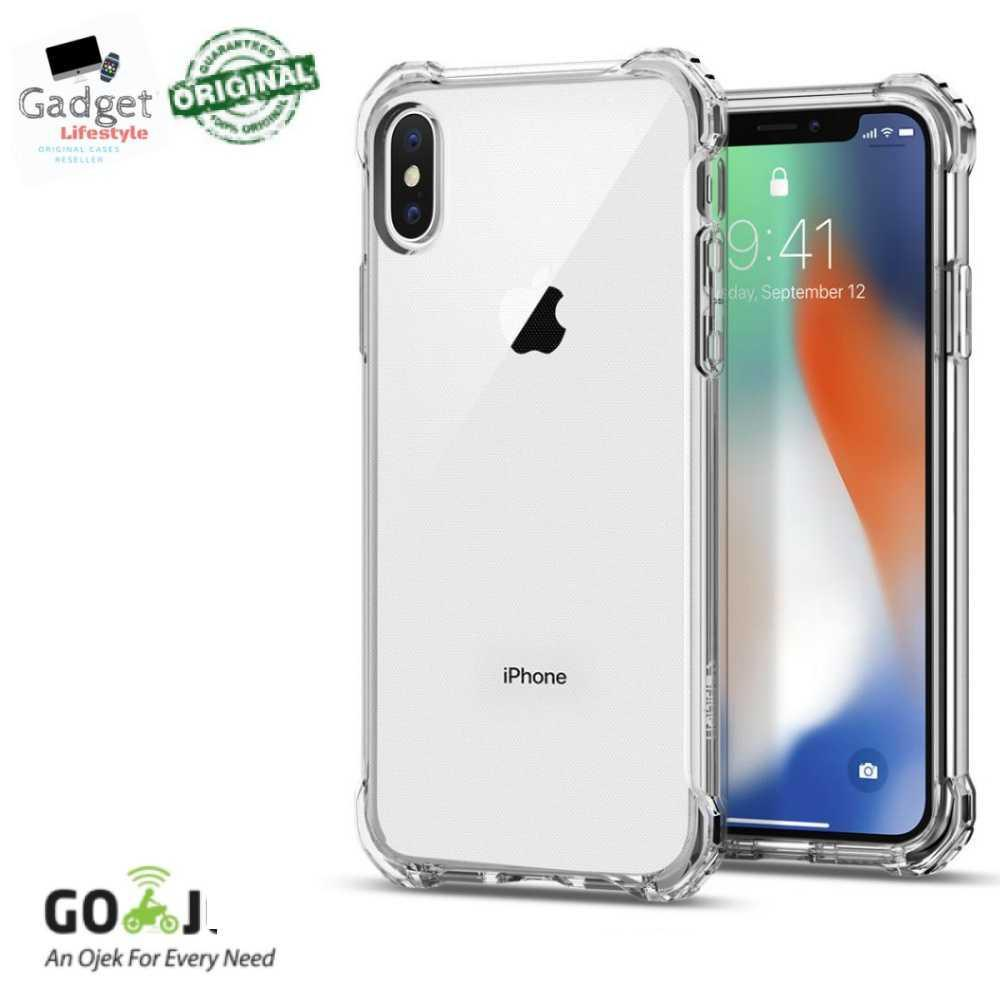 Buy Sell Cheapest Spigen Iphone X Best Quality Product Deals Case Air Skin Black Original Rugged Crystal
