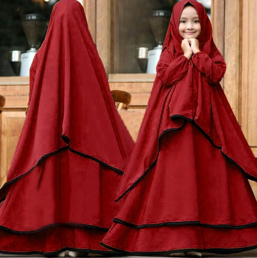 Yuki Fashion Syari Ramadhani Kids - Kubus 2 Untuk Anak Umur 7-10 Tahun