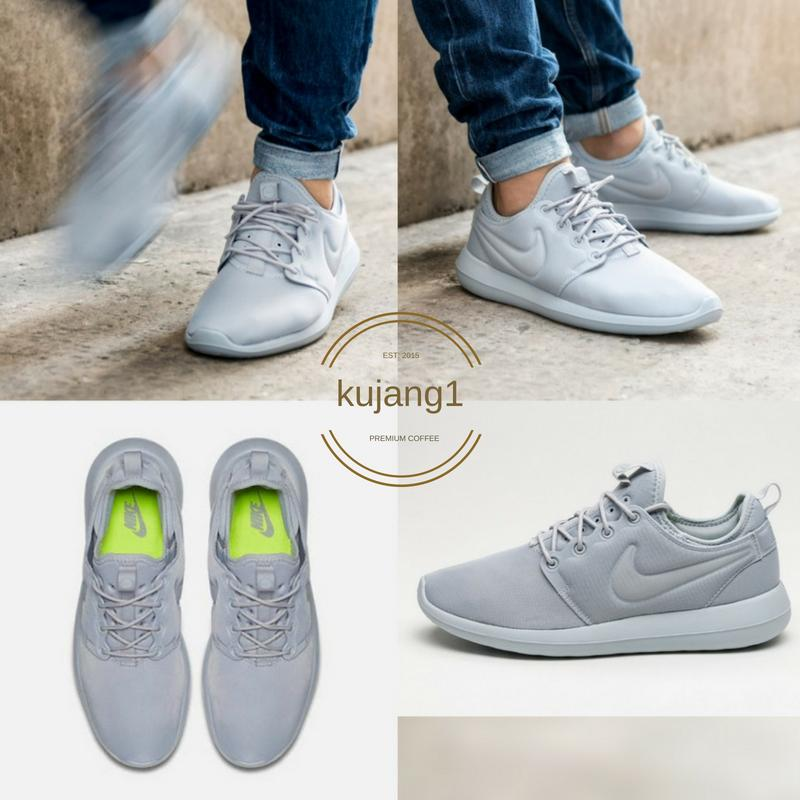 SEPATU NIKE ROSE RUN 2 SNEAKERS CASUAL 2018 ABU ABU 416894d44d
