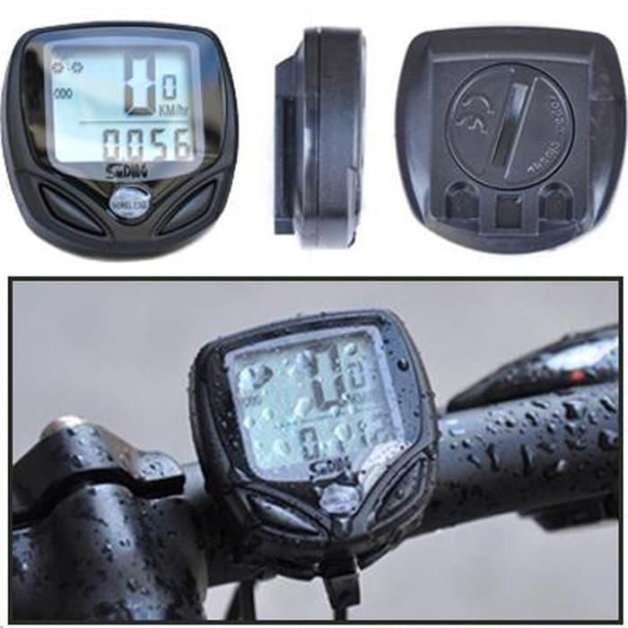 BEST SELLER!!! Waterproof Wireless Multifunctional Bicycle Speedometer Computer Odome - ufshde