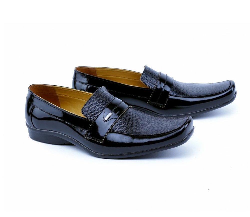 Pantofel Kulit Pria Distro Kualitas Premium Sepatu Kulit Pria Pansus Pria Sepatu Formal Cowok 0011GH
