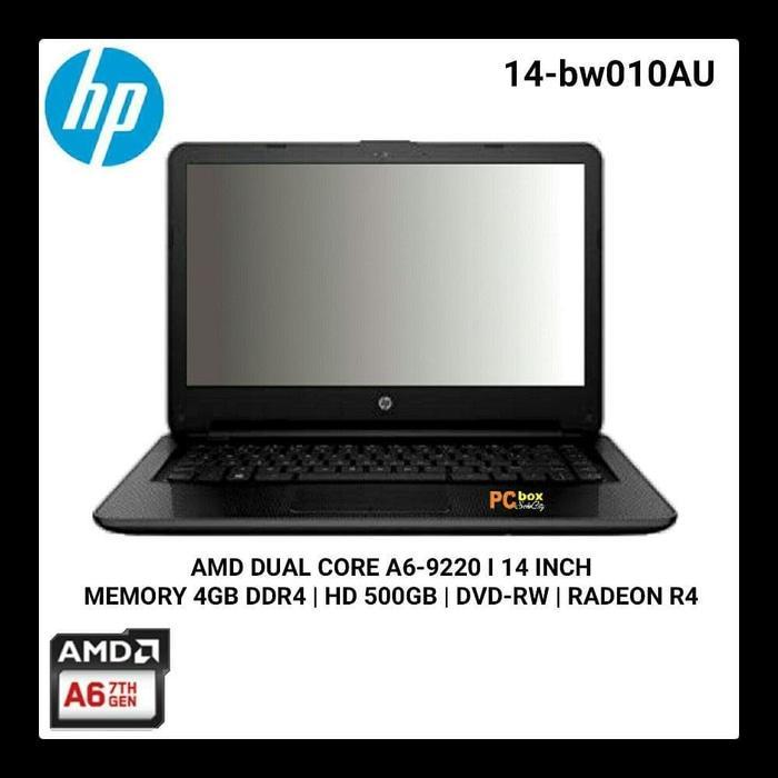 HP 14-BW010AU[AMD A6-9220][RAM 4GB/HDD 500GB