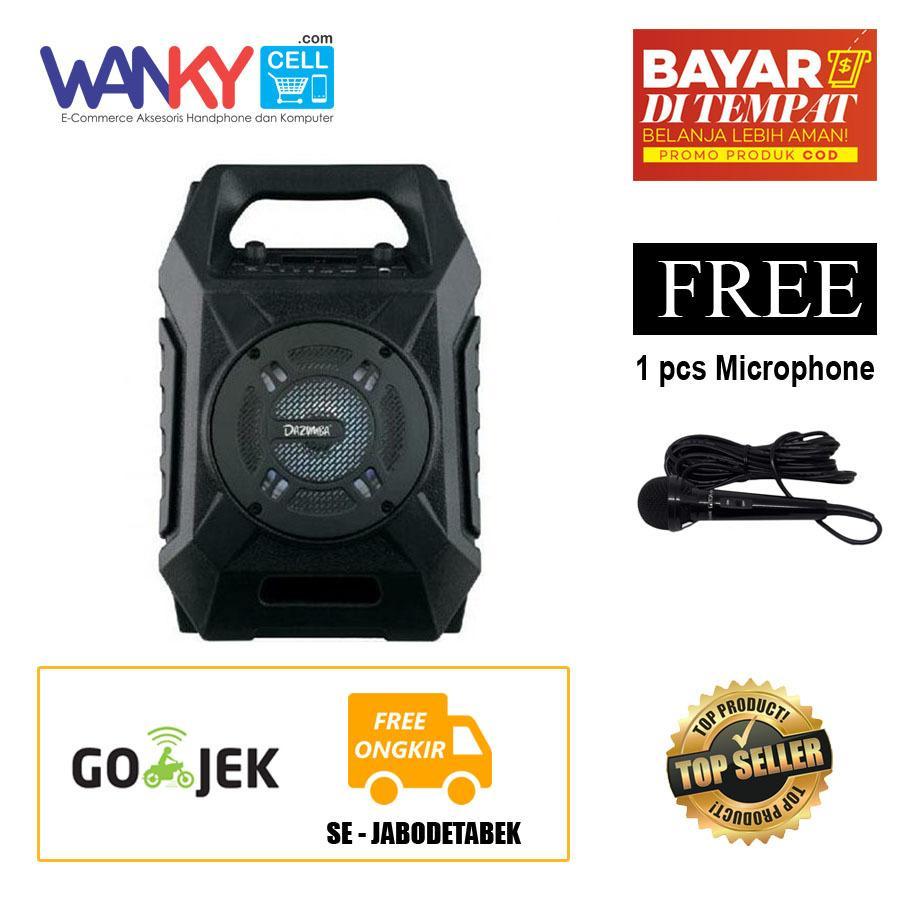 Dazumba DW-186 Portable Wireless Speaker - Hitam