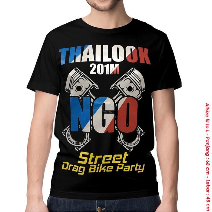 KAOS BAJU DISTRO MOTOGP - ISENG THAILOOK DRAG