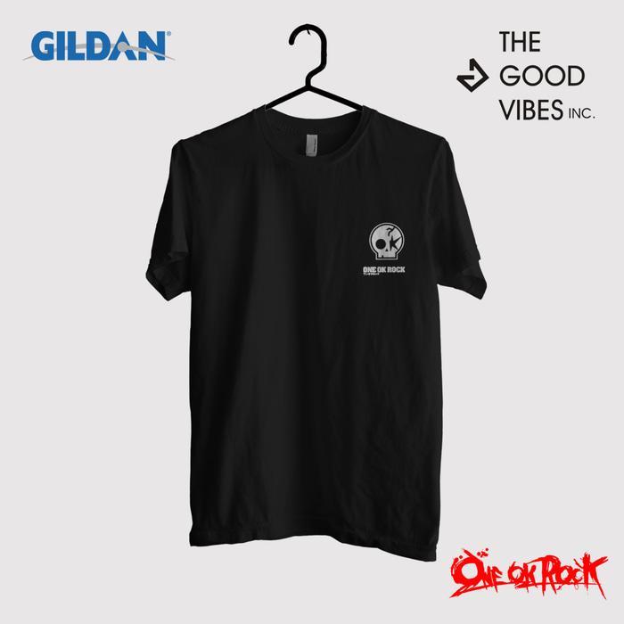 Kaos Band One Ok Rock Original Gildan - Logo Small
