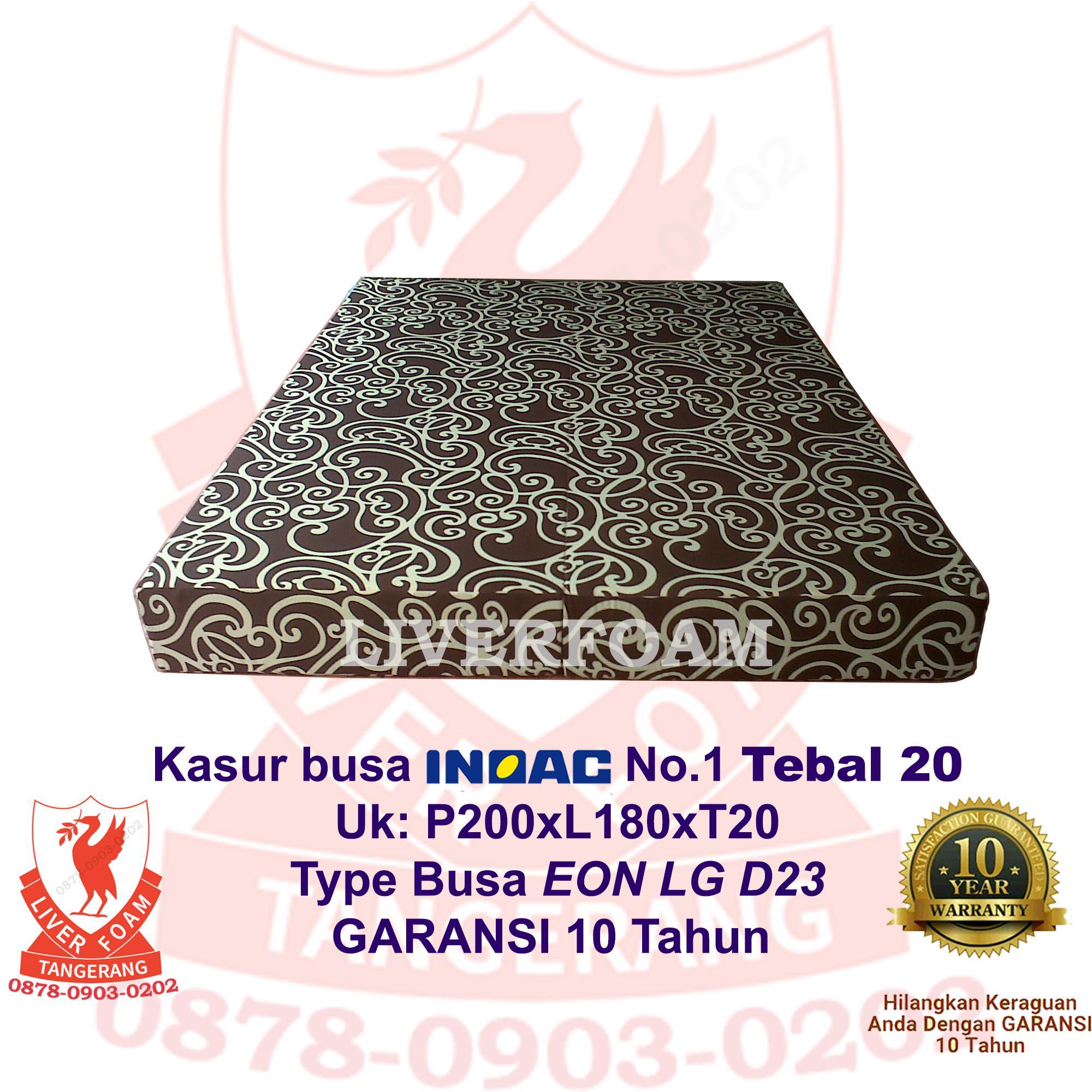 Kasur Busa Inoac No.1 Tebal 20 EON LG D23 Uk 200x180x20