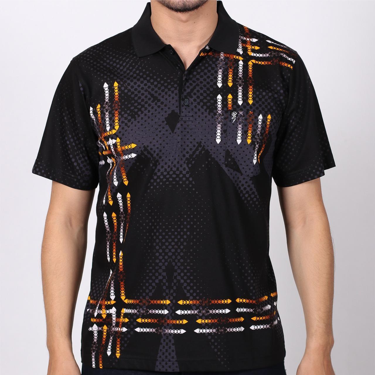Kaos Polo Pria Cressida Original Polo Shirt Cowok Regular Hitam Lengan Pendek CBWP.7P013-6A