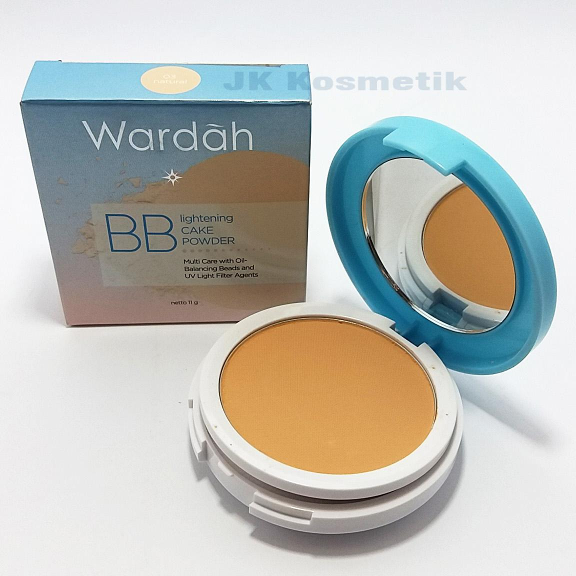 Cek Harga Baru Wardah Lightening Bb Cake Powder 01 Light Terkini Refill Two Way Feel 03 Natural