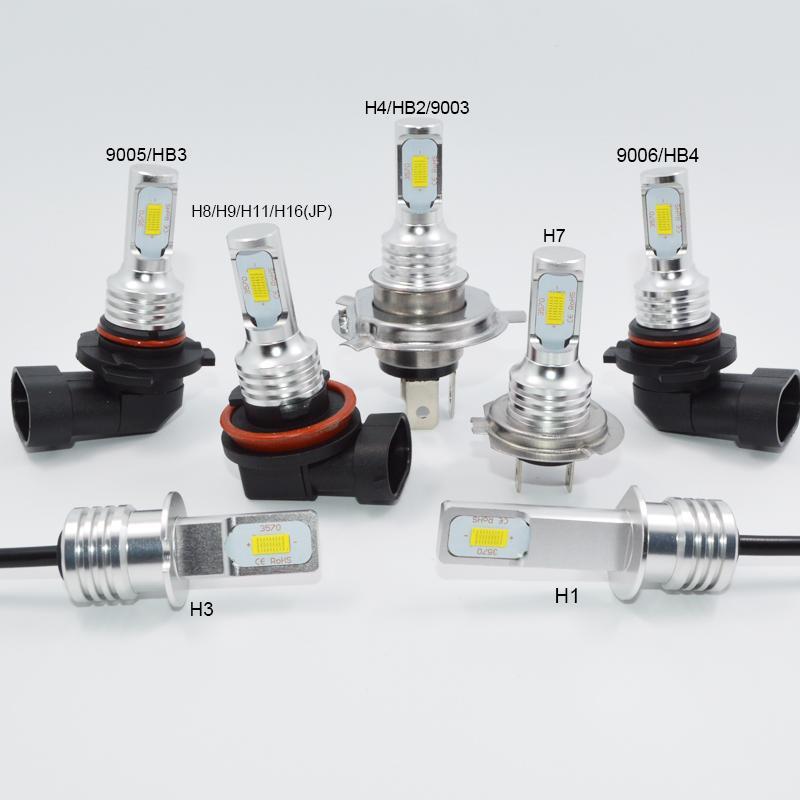 Lampu Depan Mobil 72 W H1 H3 H4 H7 H11 9006/HB4 9005/HB3