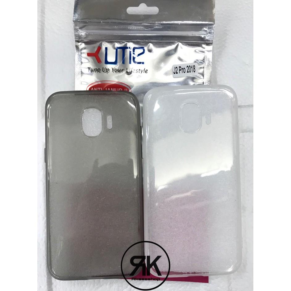 Keren! Ultra Thin Tpu Samsung J2 Pro 2018 Case Casing Cover Transparan -5085 RKA
