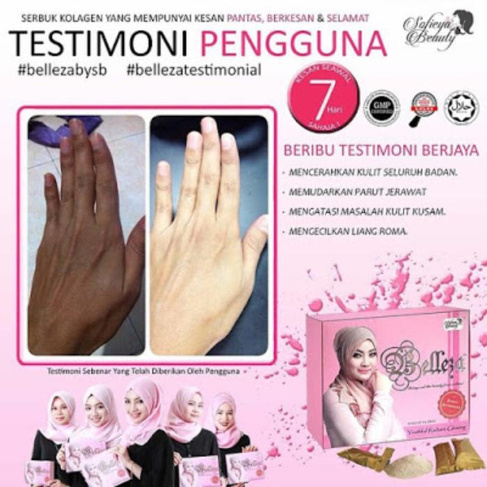 belleza collagen BY SOFIEYA BEAUTY pemutih dan burst up original 100%