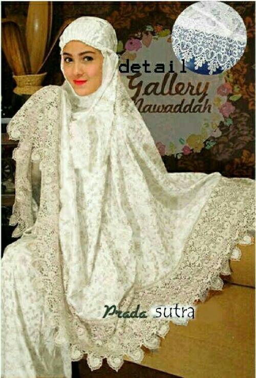 Xavier semi sutera mukena / Perlengkapan Shalat / hijab muslim / lebaran / Kebaya Modern / Hijab Muslim / Gamis / Syari / Hijab