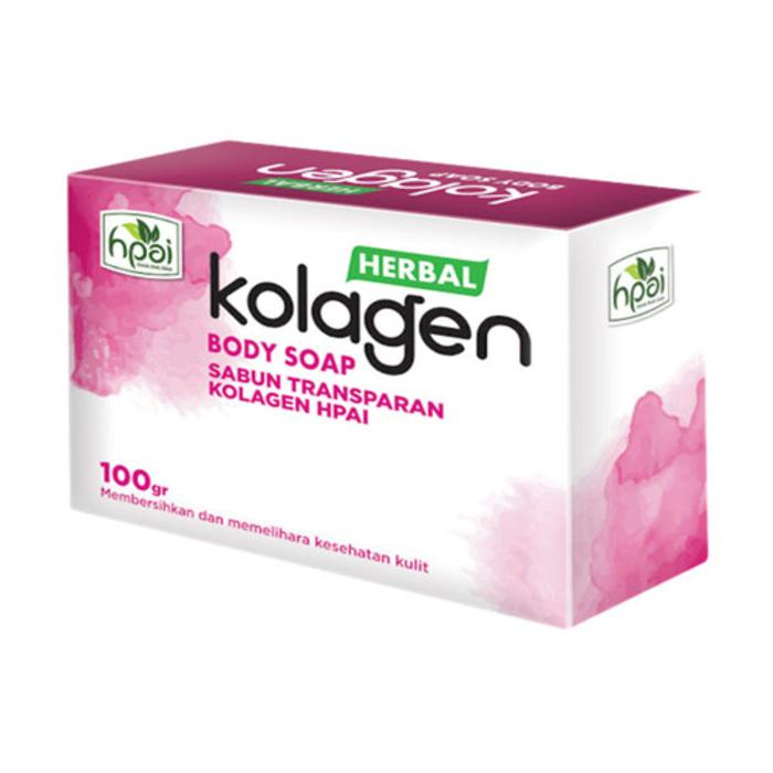 Sabun Kolagen HPAI / Collagen Soap / Colagen / Herbal / Wajah / Badan