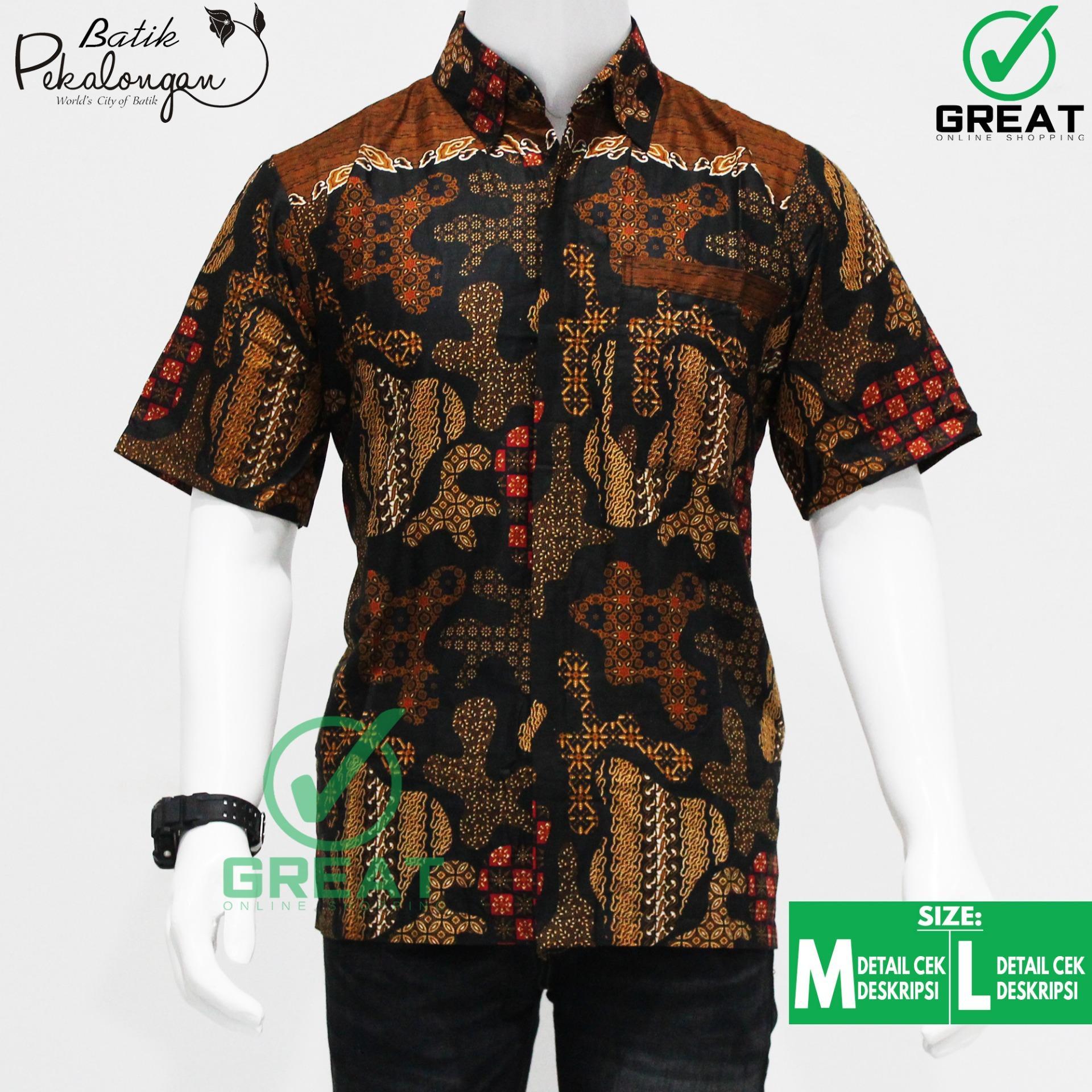 Baju Batik Pria Kemeja Batik Pekalongan Batik Model 009