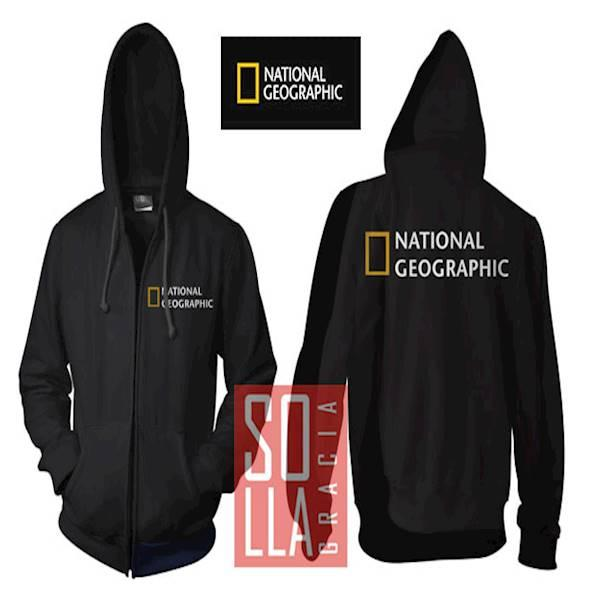JAKET HOODIE ZIPPER NATIONAL GEOGRAPHIC