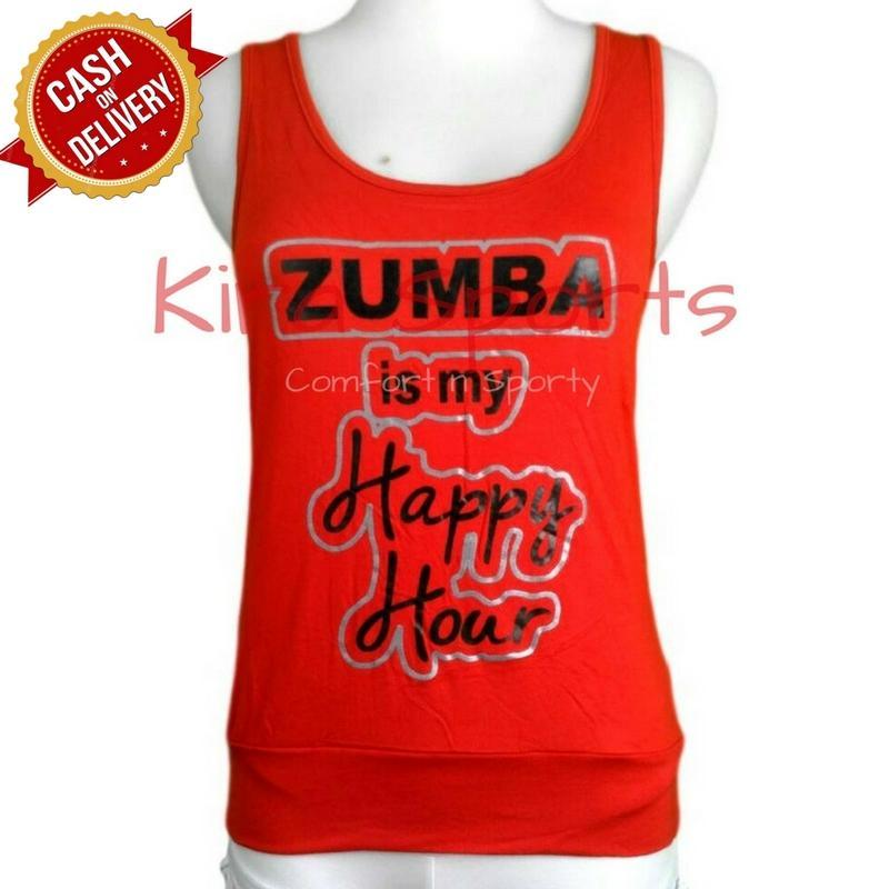 Kira Sports Tanktop Senam Wanita / Atasan Kaos Olahraga Zumba Wanita / Tank Top Baju Fitness Wanita Untuk Gym Yoga Joging Lari / Pakaian Yang Cocok Untuk Indoor Outdoor BEZ509 - Bisa COD