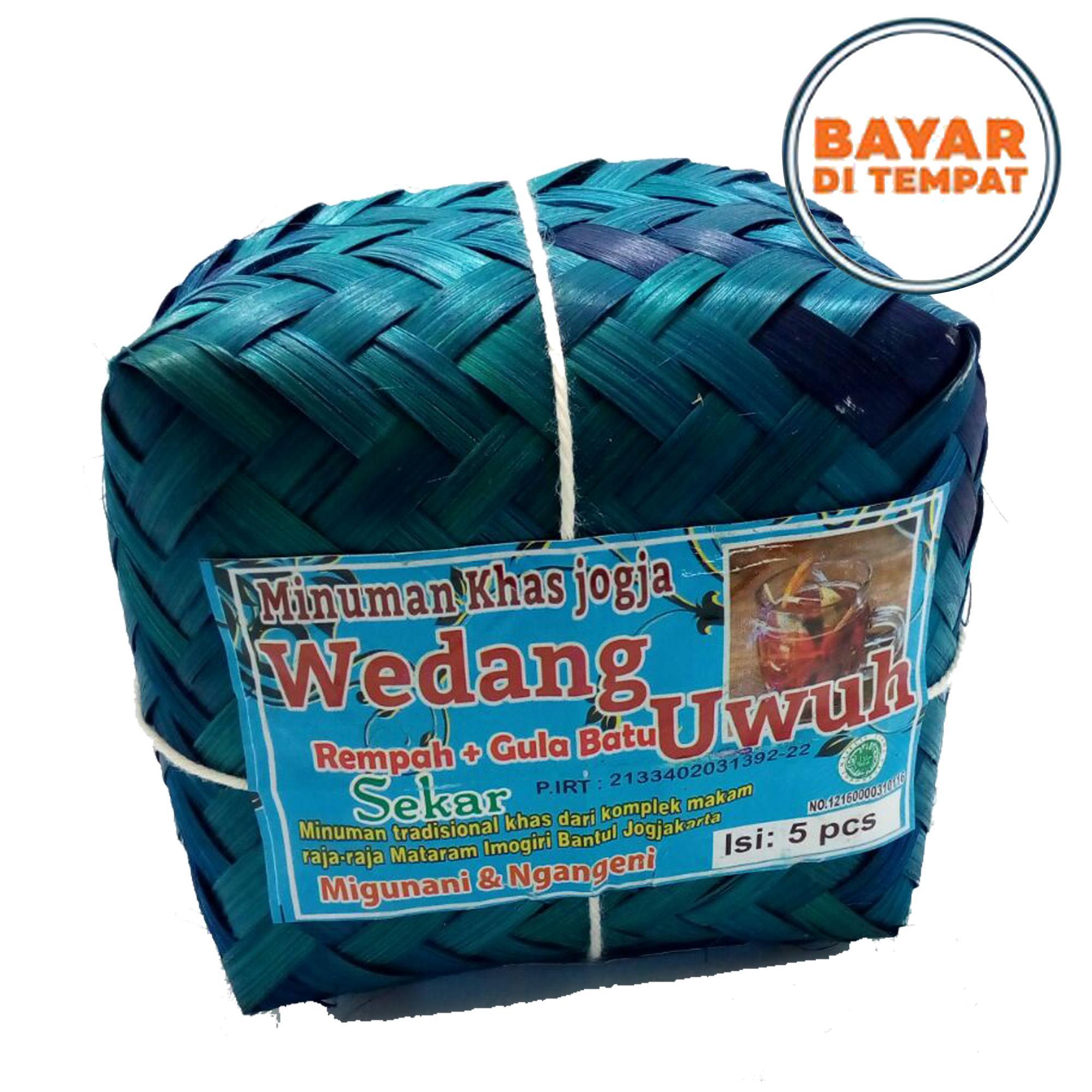 Djogja Market - Wedhang Uwuh Jogja | Wedang Uwuh Besek | Wedang Uwuh isi 5 pcs