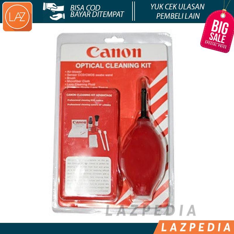 Laz COD - Set Pembersih Kamera Canon Cleaning Kit Sytem Digital Camera / Untuk Menghilangkan Debu Dari Bagian Peralatan Kamera Yang Sensitif Tanpa Kontak Fisik - Lazpedia
