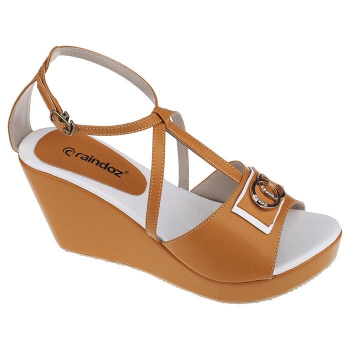 Sepatu Wedges Raindoz RHM 003 Kuning