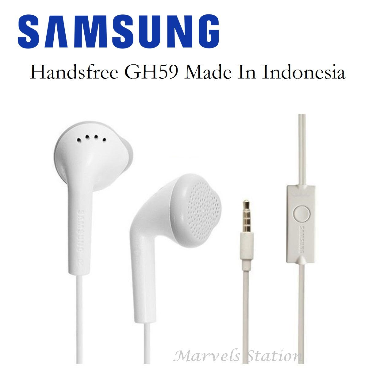 Samsung Handsfree GH59 / Headset J1 Made In Indonesia - Original