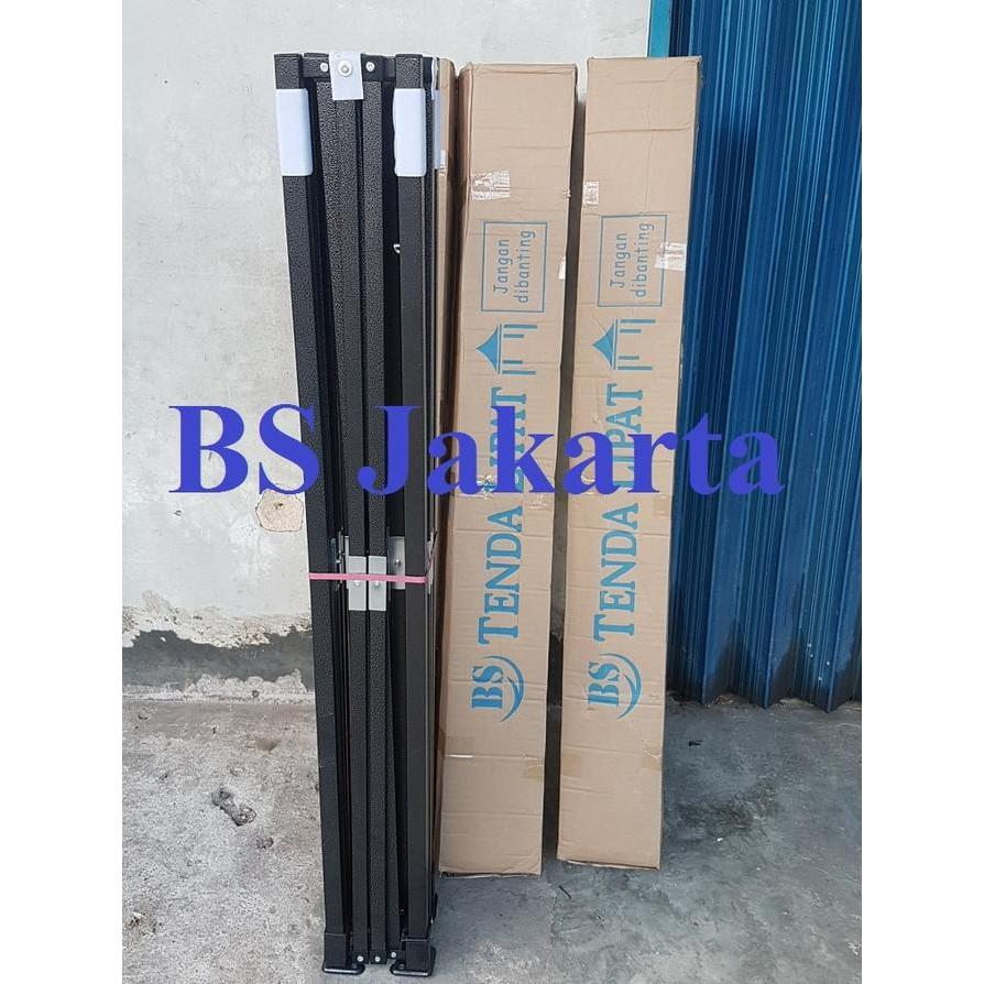 BEST SELLER!!! Tenda Lipat 3X4.5 Ketebalan Besi 0.6 MM